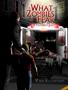 Best selling zombie book by Kirk Allmond