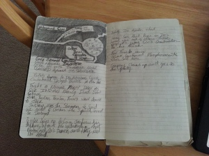 Kirk Allmond's Deadlands notebook