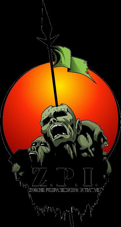 Logo for The Zombie Preparedness Initiative