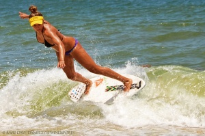 Skimboarding at Pompano Beach