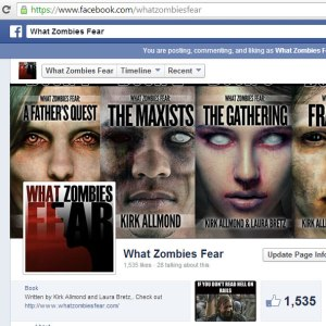 The What Zombies Fear page on Facebook